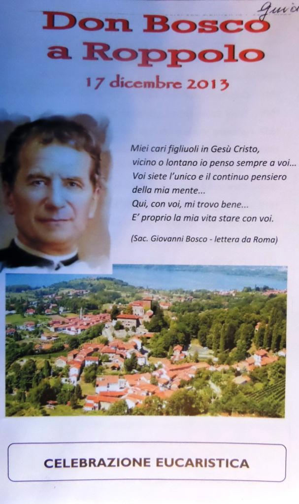 Don Bosco  a Roppolo
