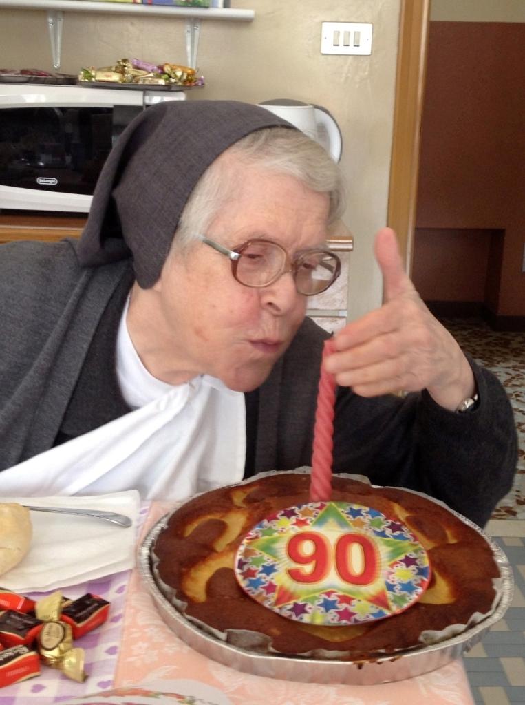 90 anni per sr Maria Oddone!