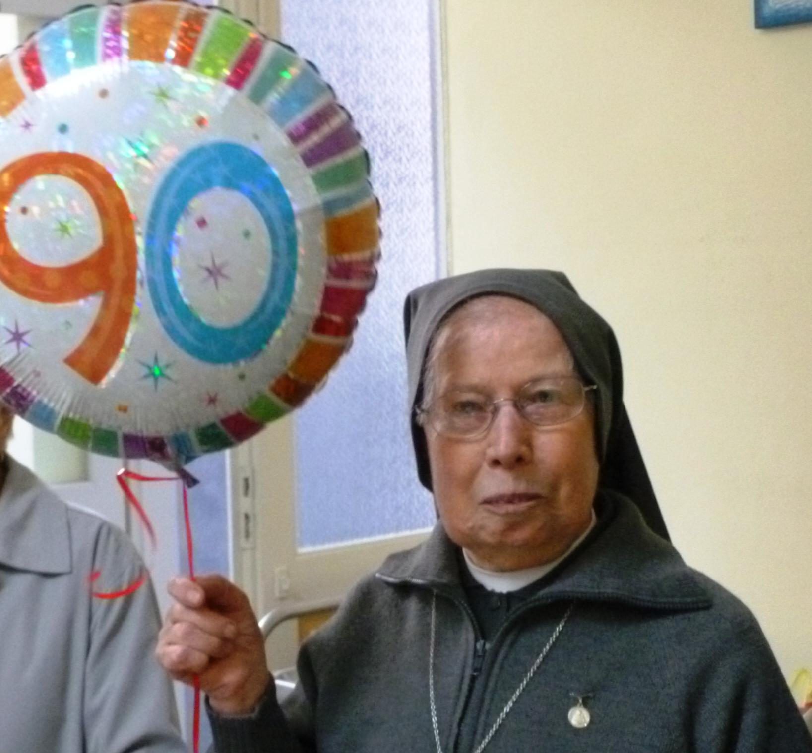 I 90 anni di sr Francesca Panero