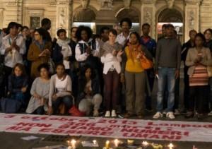 Manifestazione in ricordo della strage dei migranti del 3 ottobre 2013