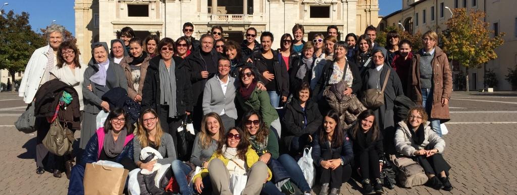 Aosta: pellegrinaggio ad Assisi