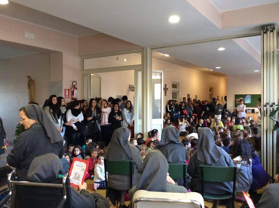 Sacro Cuore Torino in visita alle sorelle anziane e ammalate