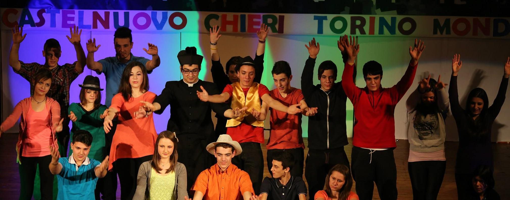 CFP Chieri: 120 giovani in scena per don Bosco