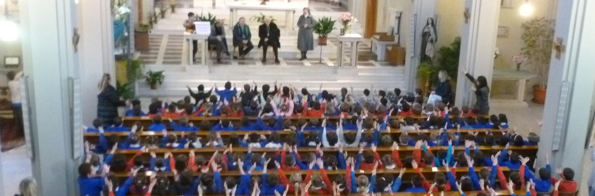Chieri Santa Teresa: il vescovo fra noi!