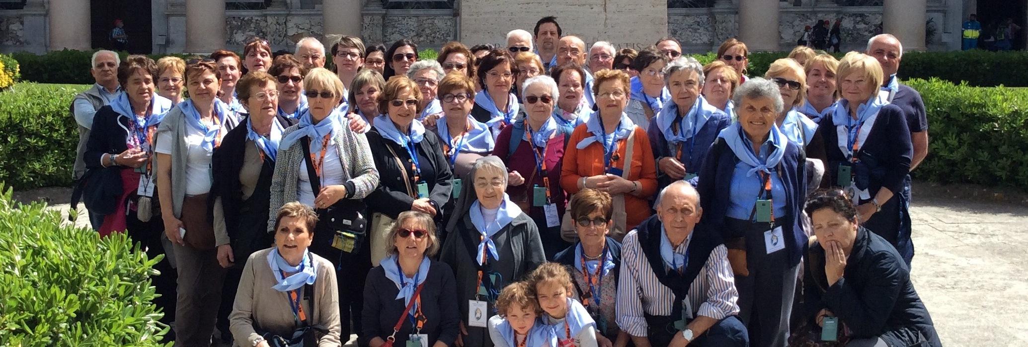 Ex-allievi in pellegrinaggio