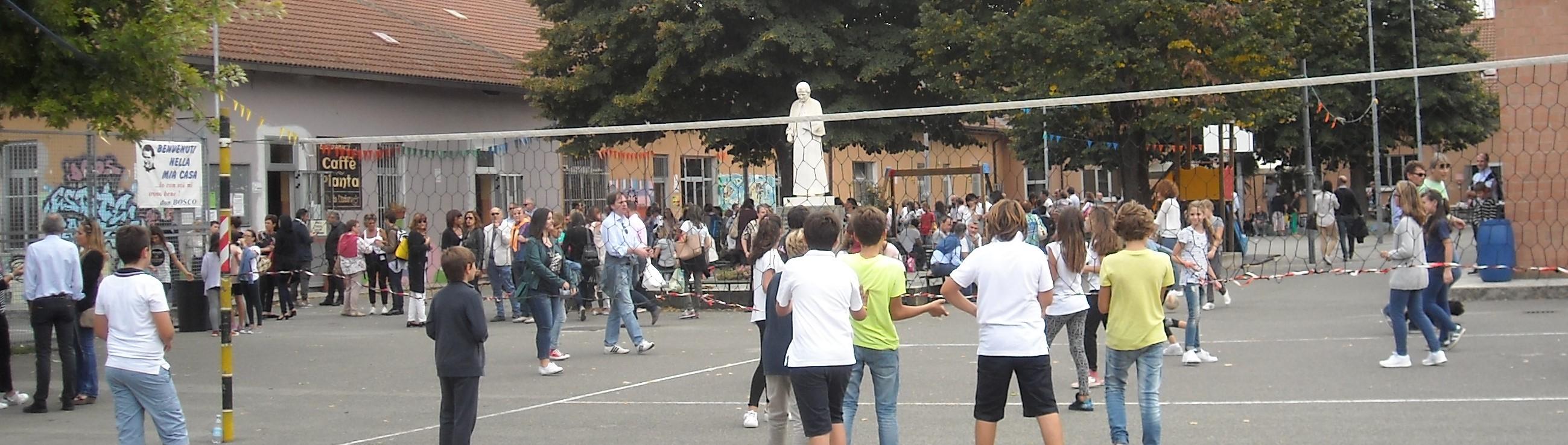 Inaugurazione dell'anno scolastico ad Alessandria Angelo Custode
