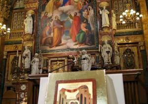 Celebrazione di accoglienza in Basilica