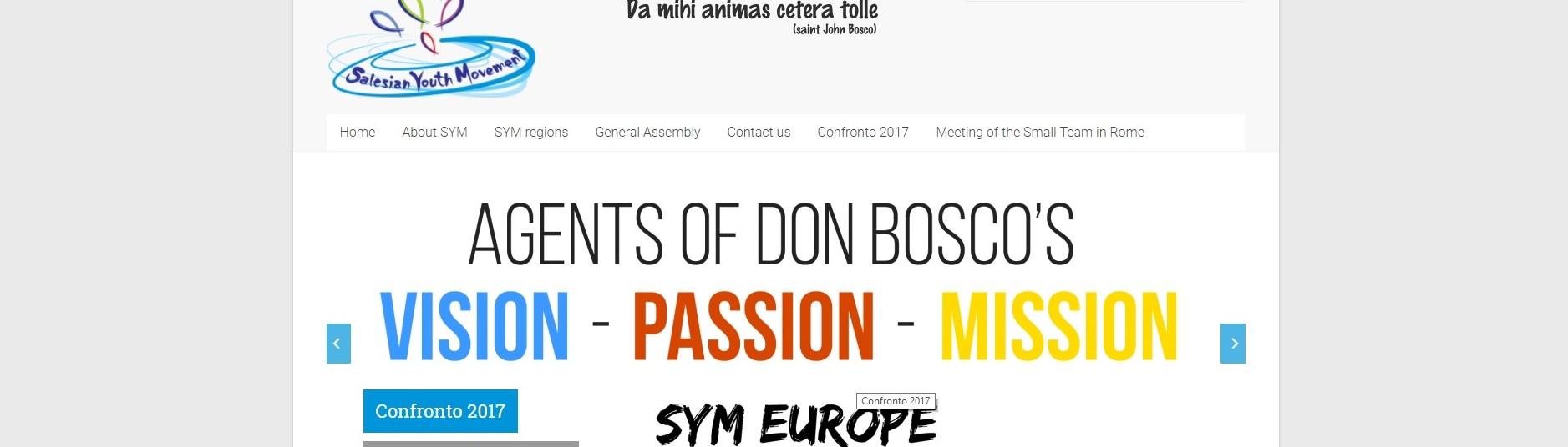 CONFRONTO EUROPEO DEL MOVIMENTO GIOVANILE SALESIANO