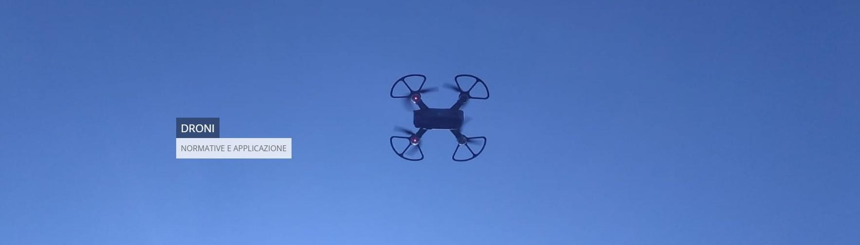 FORMAZIONE ALL'UTILIZZZO DEI DRONI