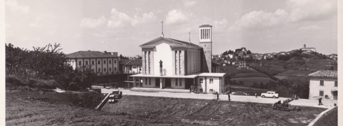22 GIUGNO 1969 – 2019: 50 ANNI DALLA POSA DELLA PRIMA PIETRA DEL SANTUARIO DI MORNESE