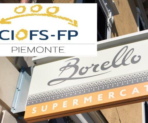 CIOFS FP PIEMONTE E SUPERMERCATI BORELLO PER LA FORMAZIONE