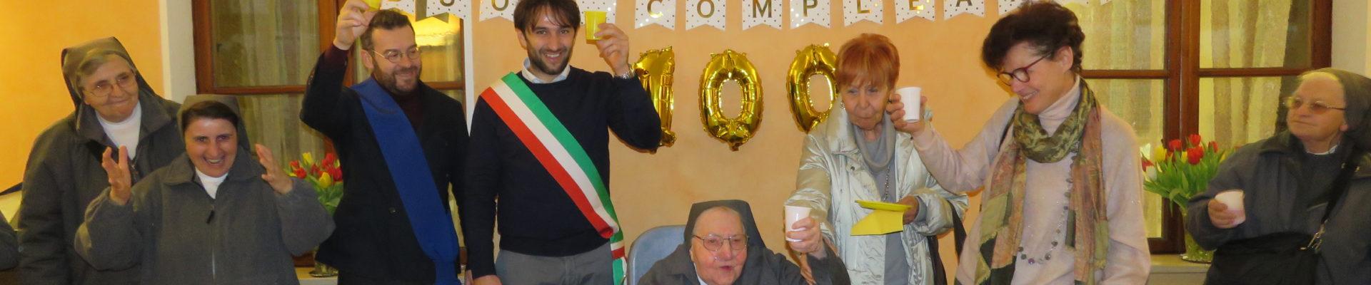 100 ANNI PER SR AMALIA SAVIO