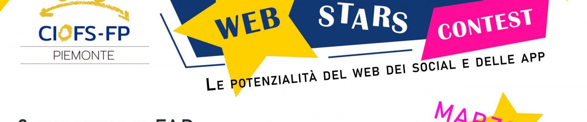 CONCORSO WEBSTARS PER IL CIOFS-FP PIEMONTE